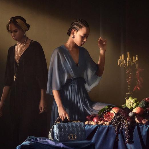 Весенняя кампания Dior вдохновлена картинами Караваджо