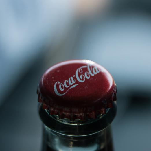 Coca-Cola переработанный пластик