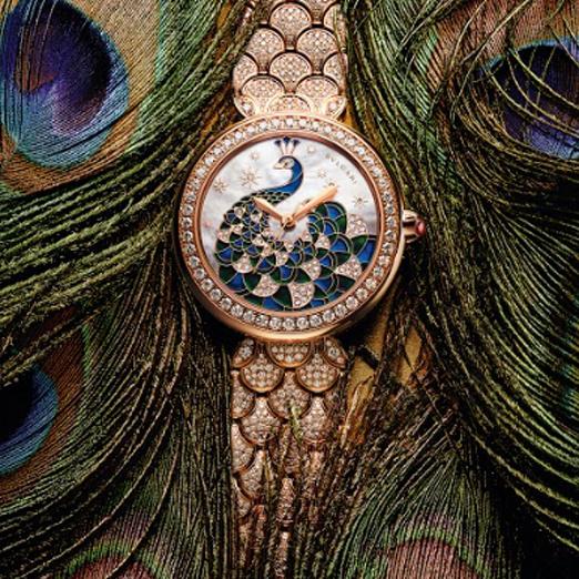Во флагманском бутике Bvlgari будет работать выставка часовых новинок и раритетов