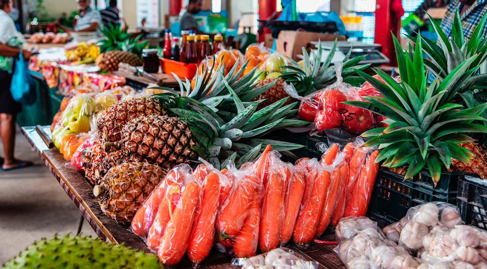 фрукты на сейшелах