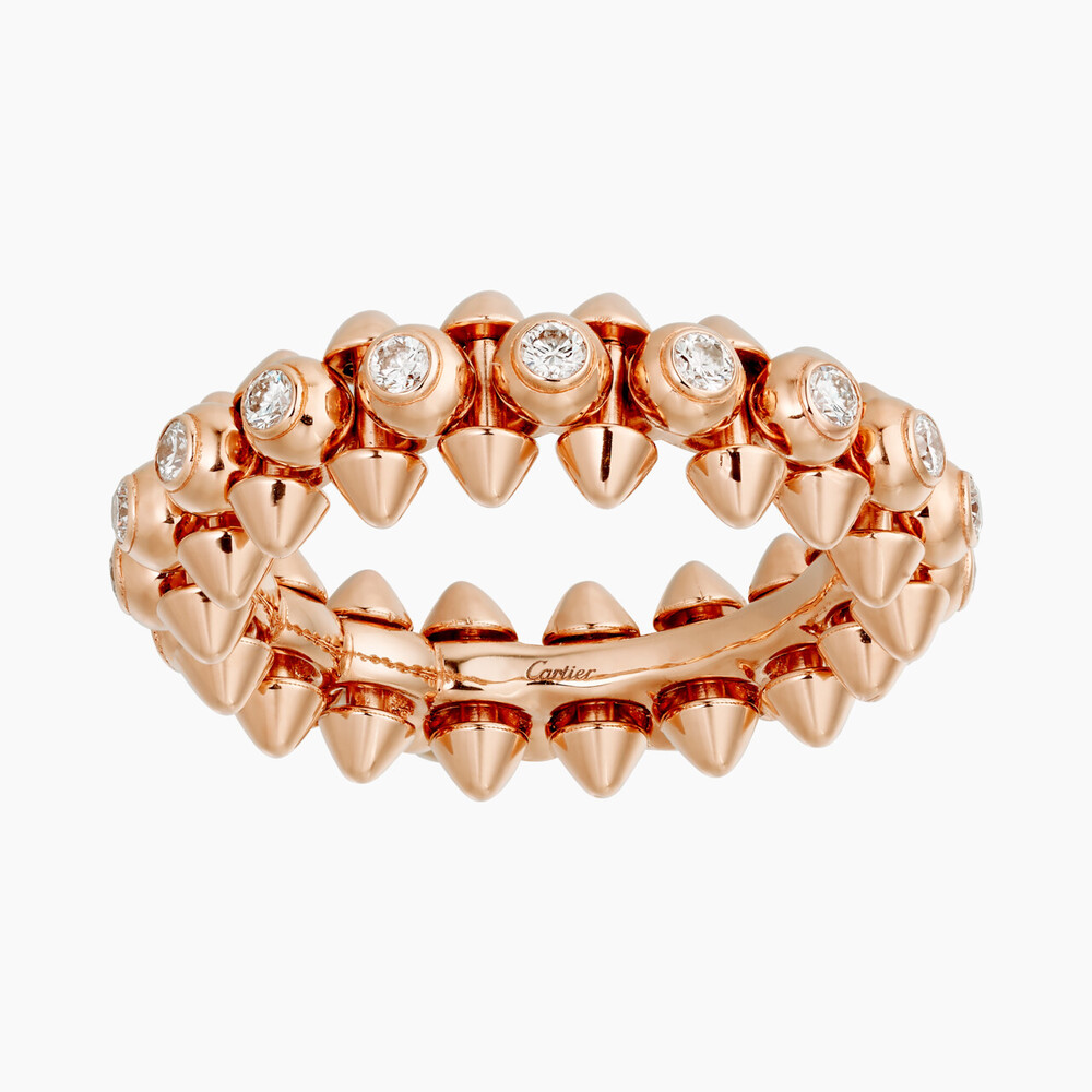Кольцо CLASH DE CARTIER из розового золота и бриллиантов, Cartier, 745 000 руб