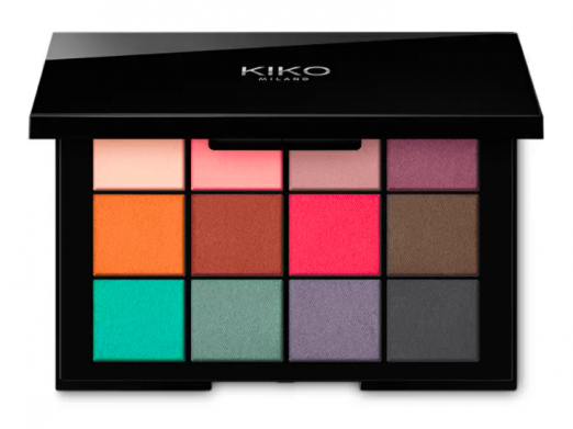 Smart Cult Eyeshadow Palette в оттенке «01 Matte Revolution» от Kiko Milano