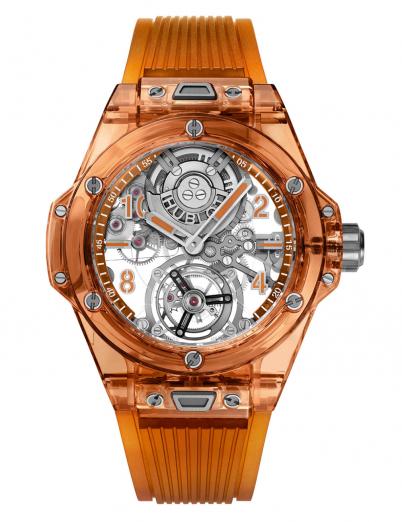 Часы-Big-Bang-Tourbillon-Automatic-Orange-Sapphire,-Hublot-