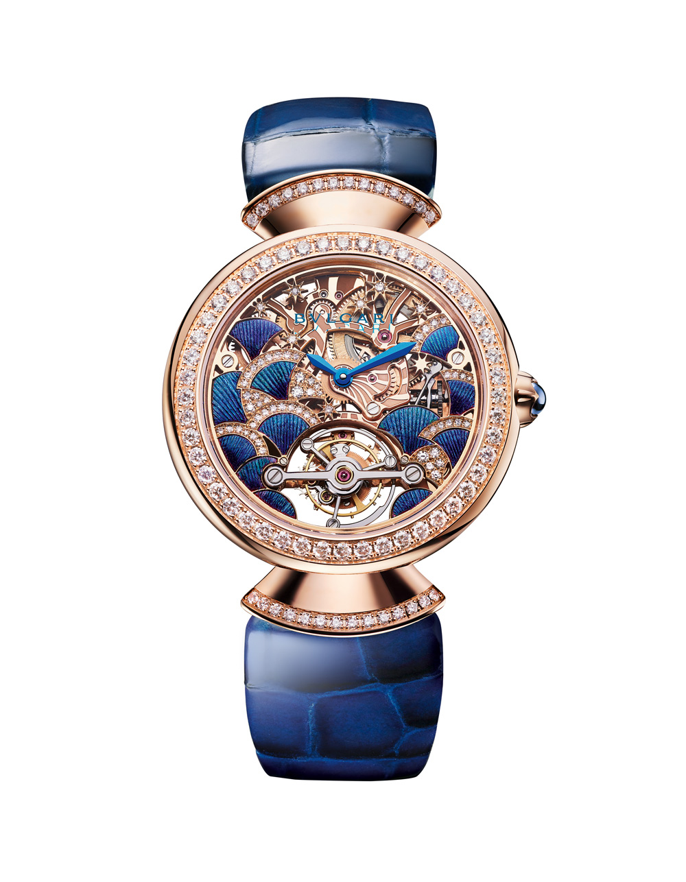 Часы-Diva_s-Dream-Peacock-Tourbillon-Lumiere,-Bulgari