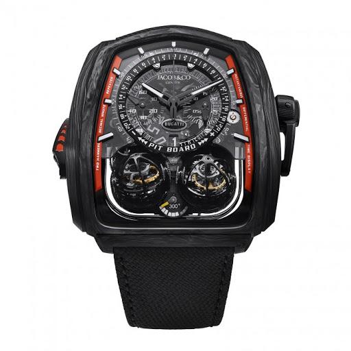 Часы Twin Turbo Bugatti Chiron Super Sport 300+, Jacob _ Co