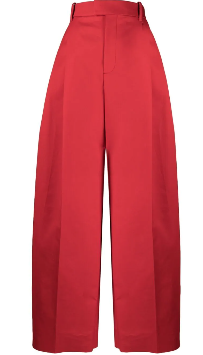 широкие брюки со складками, Bottega Veneta, 81 810 ₽