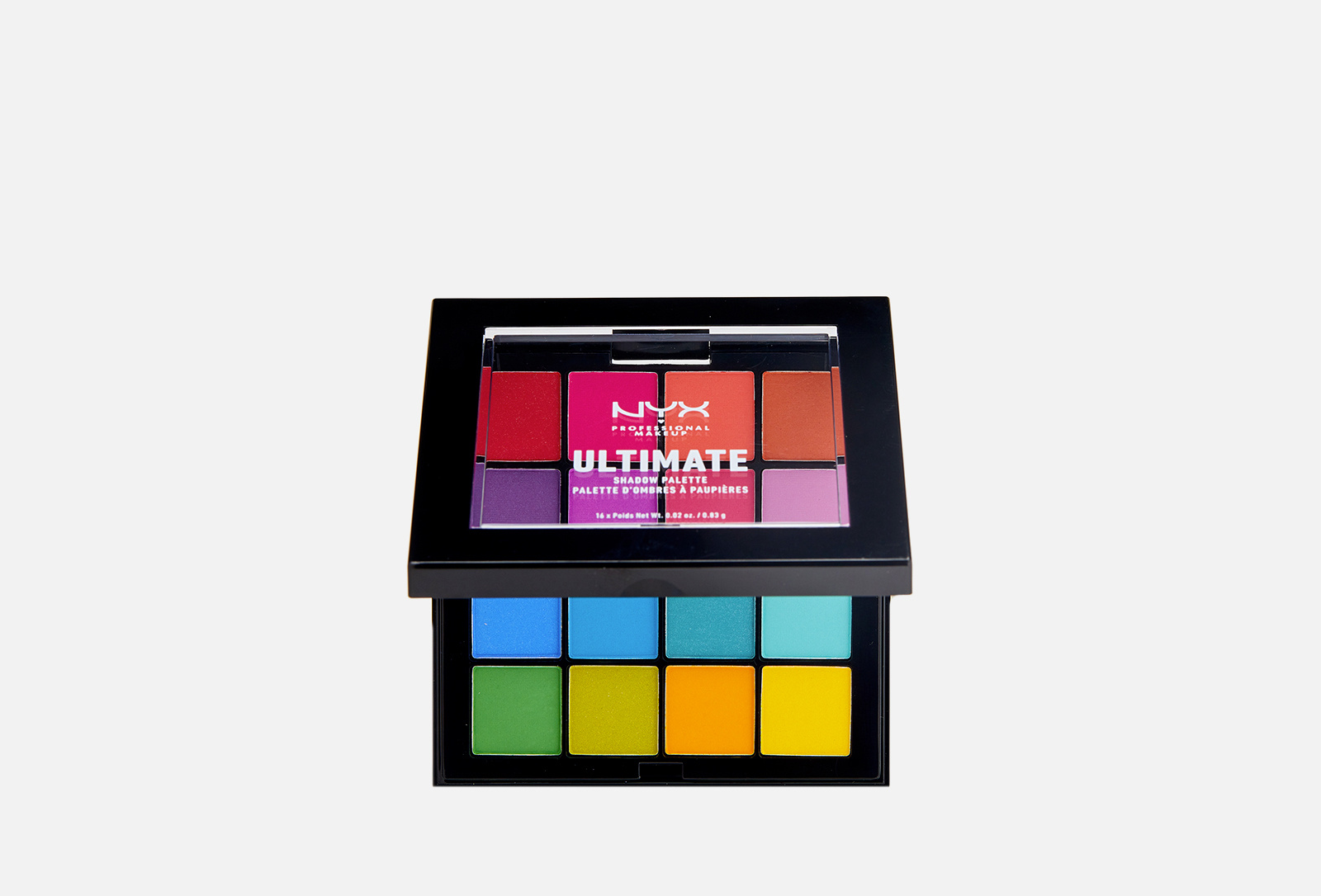 Ultimate Shadow Palette в оттенке «04/Brights» от NYX Professional Makeup