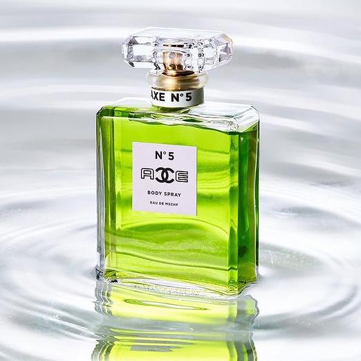 Появился аромат на основе Chanel №5 и Axe