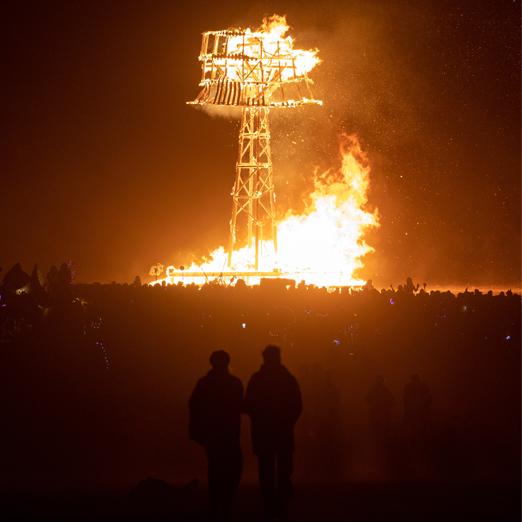 Организаторы фестиваля Burning Man работают над созданием постоянной площадки