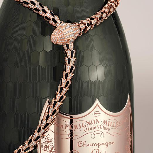 Коллаборация Bvlgari и Dom Pérignon