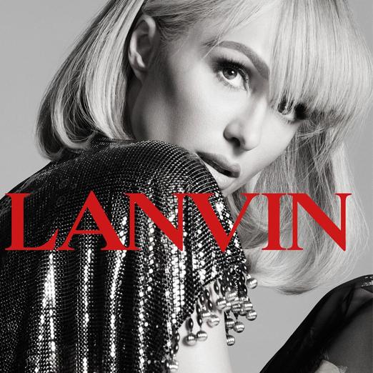 Пэрис Хилтон снялась в рекламной кампании Lanvin