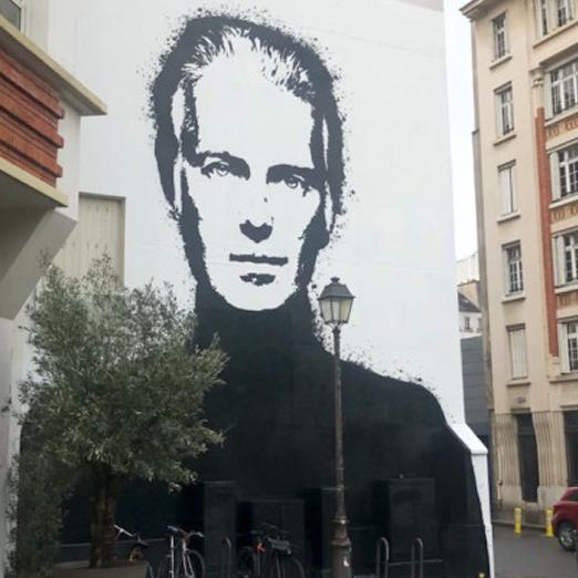 граффити Юбер де Живанши