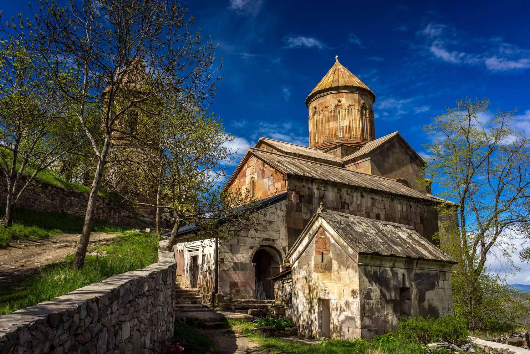 Православный монастырь Сапара