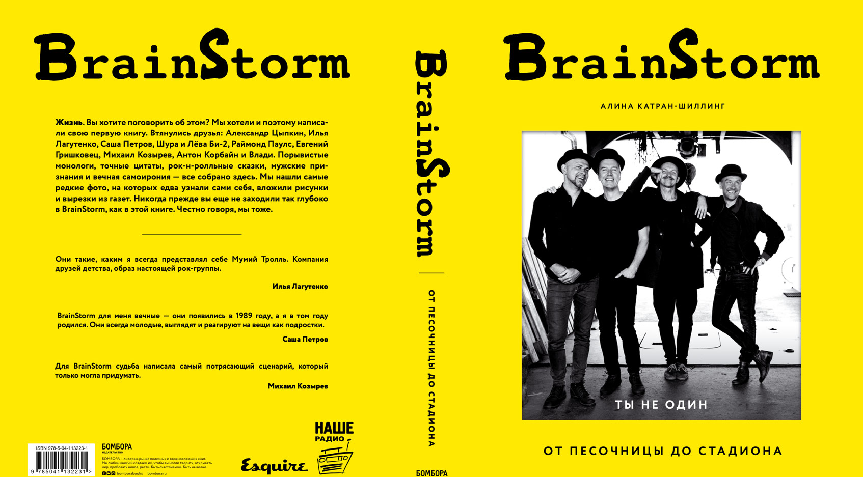 brainstorm книга