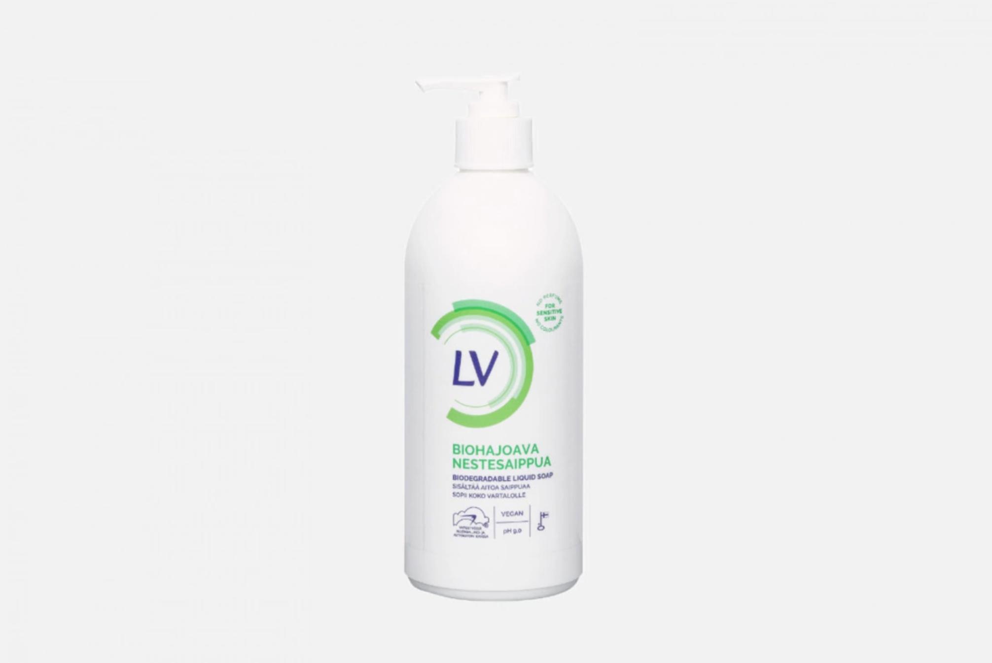 Жидкое мыло от LV Berner