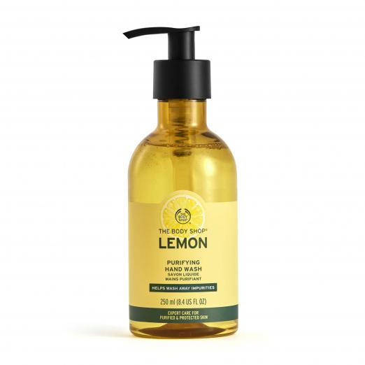 Жидкое мыло для рук «Свежий лимон» от The Body Shop