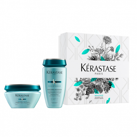 Весенний набор Force Architecte для восстановления поврежденных волос от Kerastase