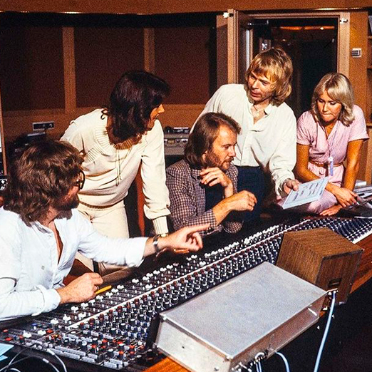 Группа ABBA тур