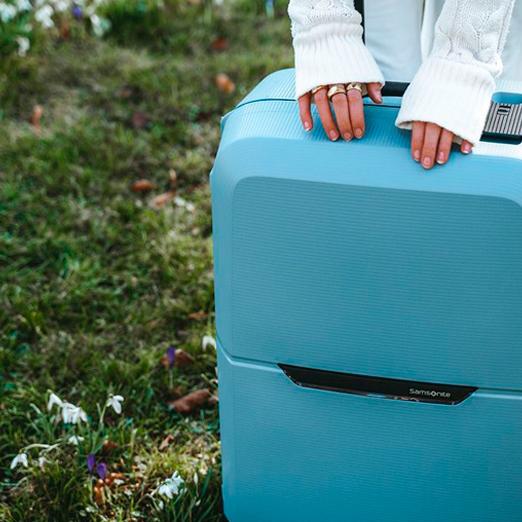 новая коллекция чемоданов Samsonite
