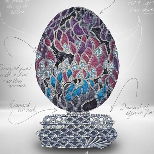 Fabergé выпустил яйцо в честь сериала «Игра престолов»