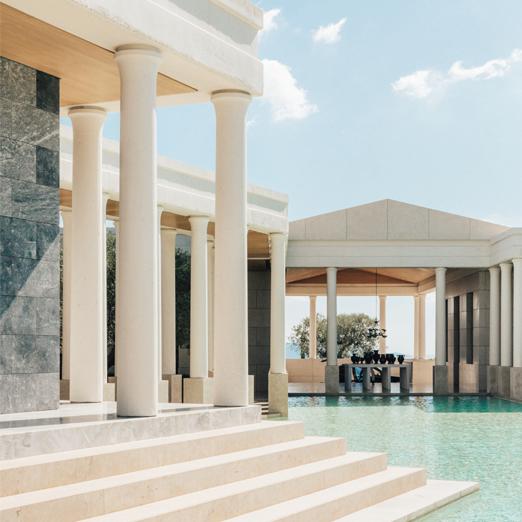 Греческий отель Amanzoe откроется уже в конце апреля