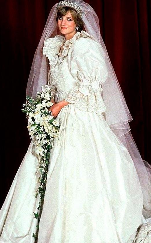 платье принцессы дианы