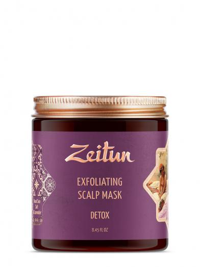 Скраб для кожи головы и волос «Детокс» от Zeitun