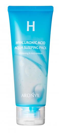 Увлажняющая маска для лица c гиалуроновой кислотой Hyaluronic Acid Aqua Sleeping Pack от ARONYX