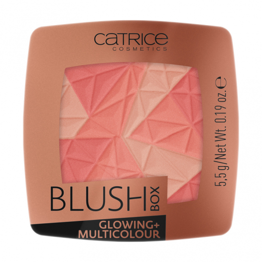 Румяна Blush Box Glowing & Multicolour от CATRICE