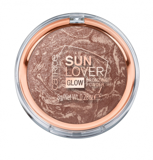 Бронзирующая пудра Sun Lover Glow Bronzing Powder от CATRICE