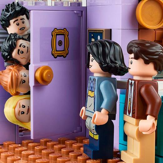 лего конструктор с квартирами из друзей