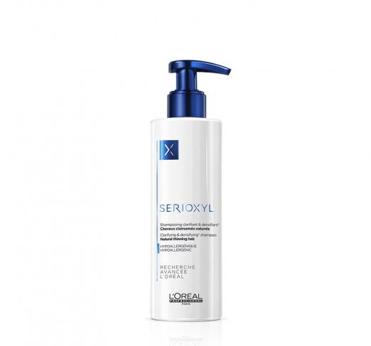 Уплотняющий шампунь для истощенных волос Serioxyl от L'Oreal Professional
