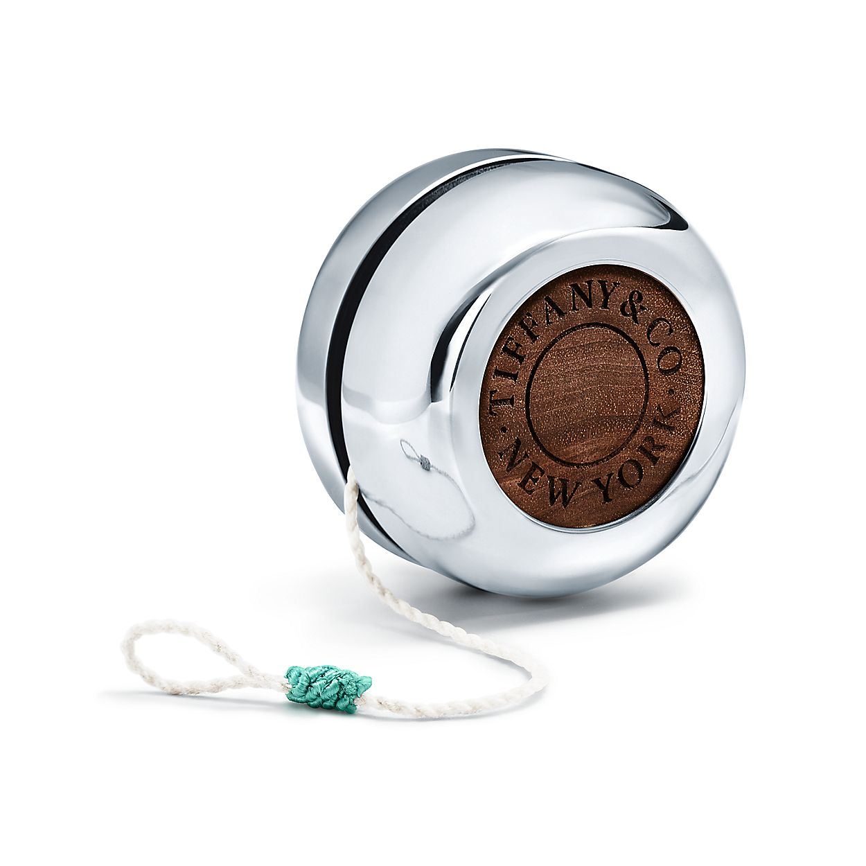йо-йо из ореха и серебра, Tiffany & Co